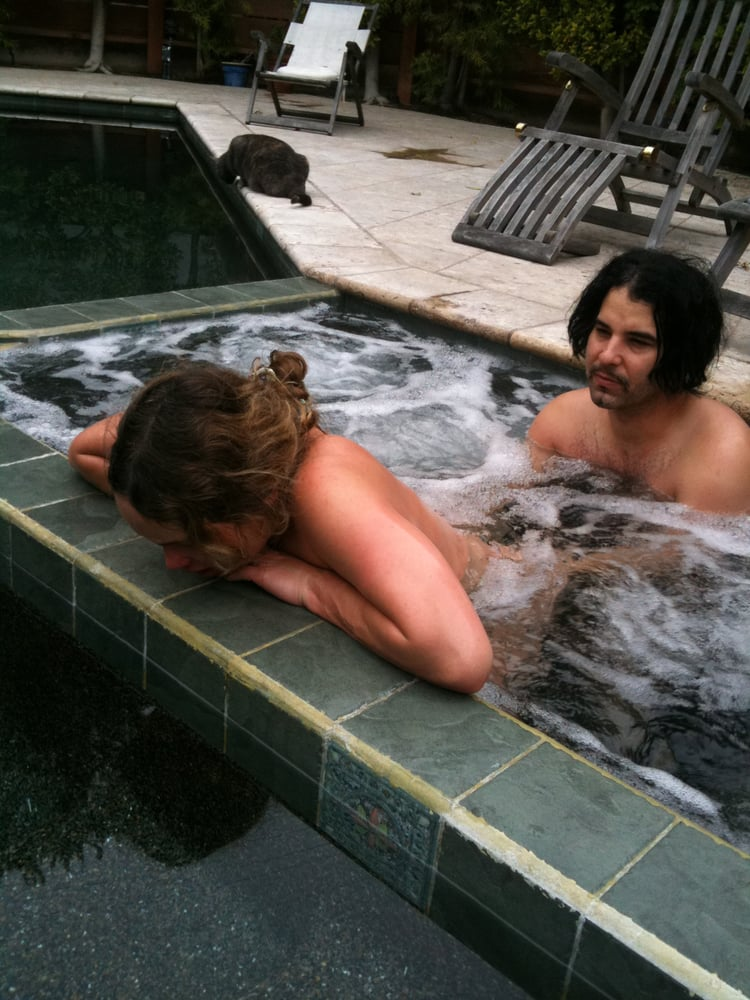 Laboring in Jacuzzi